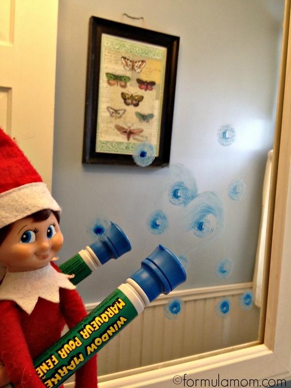 Elf On The Shelf Ideas Mirror Mischief The Simple Parent