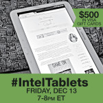 Join #IntelTablets Twitter Party 12/13