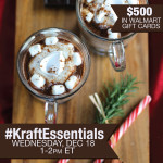 Join me at #KraftEssentials Twitter Party 12/18