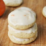 Orange Sugar Cookies with Orange Glaze
