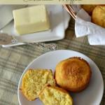 Rosemary Olive Oil Cornbread Muffins Recipe