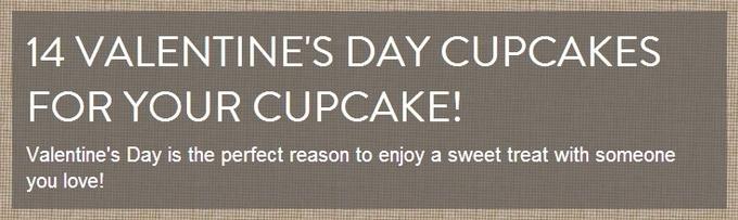 14 Valentines Day Cupcakes #valentinesday