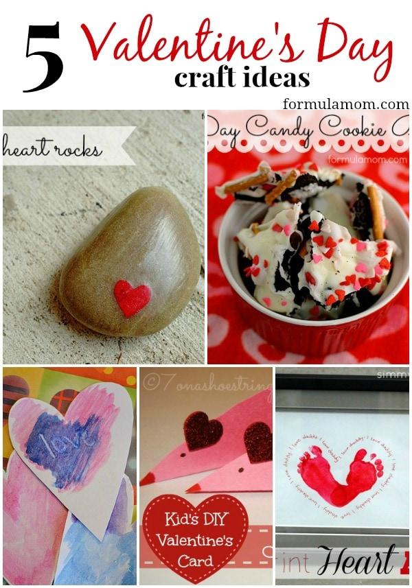 5 Valentineu0027s Day Craft Ideas #valentinesday