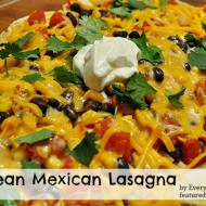 Black Bean Mexican Lasagna
