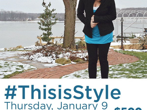 Join the #ThisisStyle Twitter Party on 1/9!