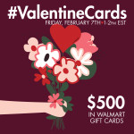 Join the #ValentineCards Twitter Party 2/7!