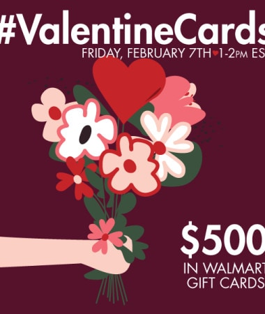 #ValentineCards Twitter Party 2/7 #shop #cbias