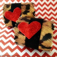 Dollar Tree DIY: Valentines Day Napkin Rings