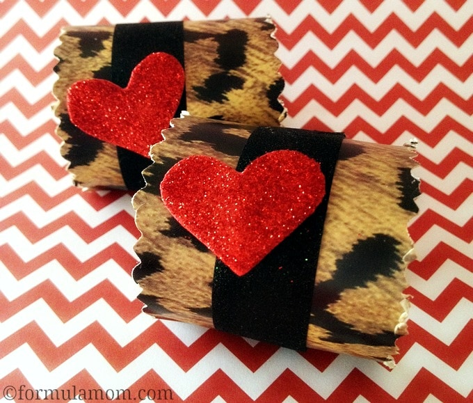 DIY Valentine's Day Napkin Rings #valentinesday