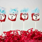 Cat in the Hat Marshmallow Pops: Thing 1 & Thing 2