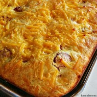 Corn Dog Casserole Recipe