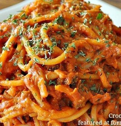 Crockpot Spaghetti Recipe