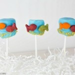 Dr Seuss Activities: One Fish Two Fish Red Fish Blue Fish Marshmallow Pops