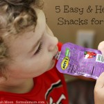 5 Easy Healthy Snacks for Kids