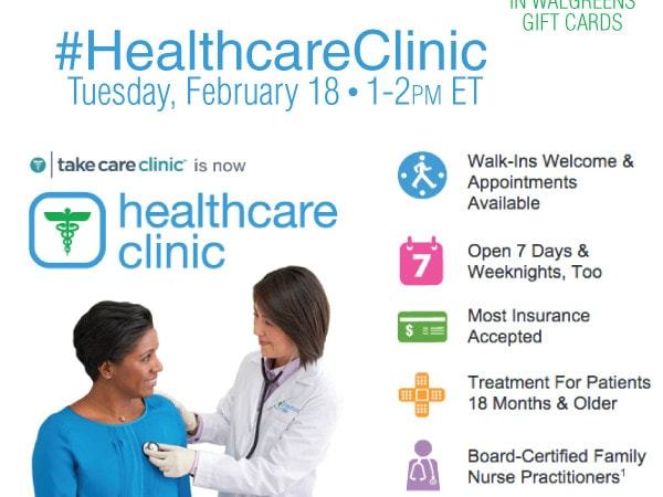 Join #HealthcareClinic Twitter Party 2/18