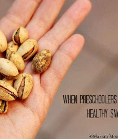 When Preschoolers Learn About Healthy Snacking #PistachioHealth