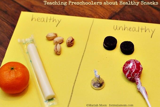 When Preschoolers Learn About Healthy Snacks