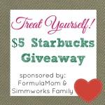 February Treat Yourself Starbucks Giveaway