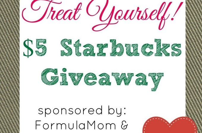 February Treat Yourself Starbucks Giveaway