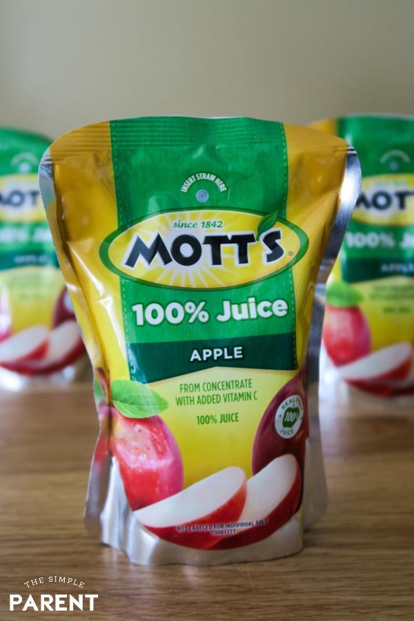 Mott's 100% Juice pouches