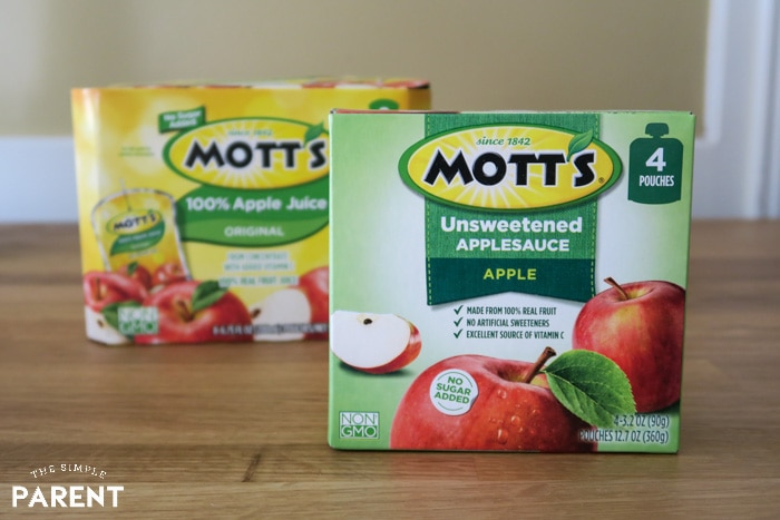 Mott's Applesauce Pouches