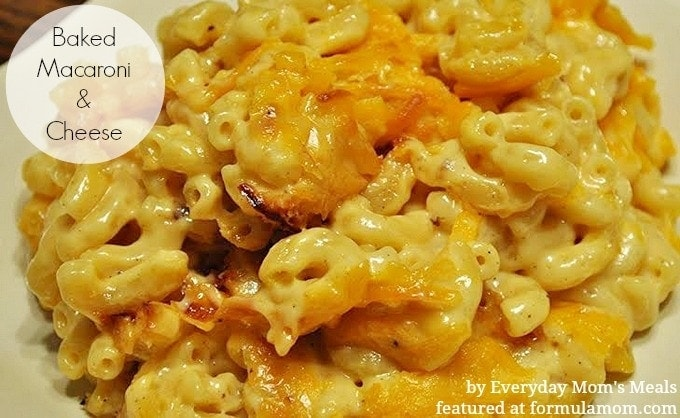 Creamy Baked Macaroni And Cheese Formula Mom Texas Blogger