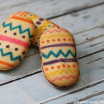 Easy Easter Egg Cookies #easter
