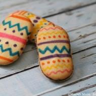 Easy Easter Egg Cookies