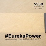 Join #EurekaPower Twitter Party 3/19