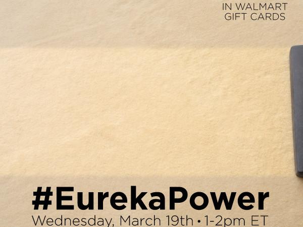 Join #EurekaPower Twitter Party 3/19