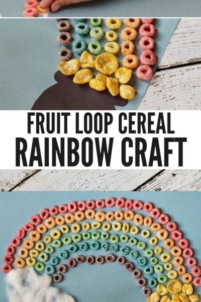 Rainbow Fruit Loops Crafts