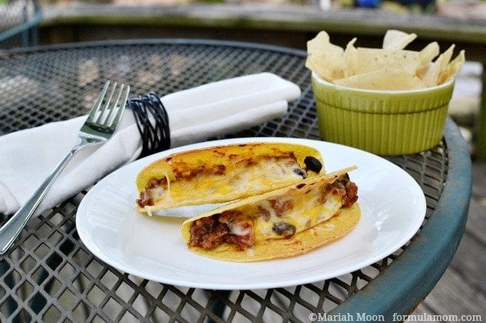 Easy Baked Tacos #recipe