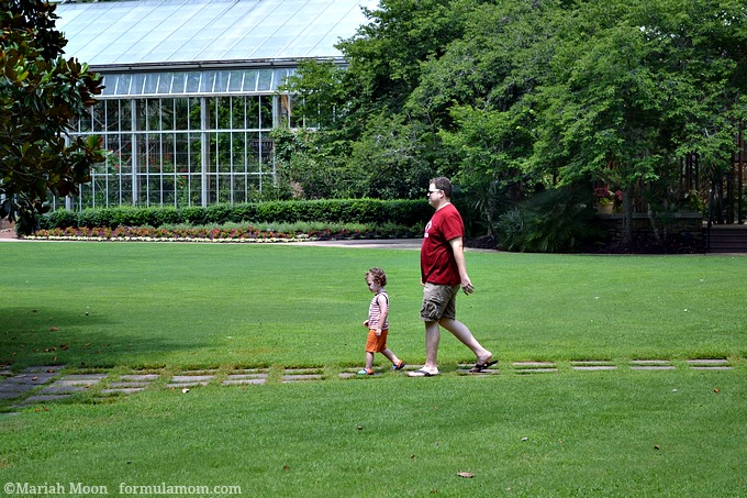 Family Travel at Sibley Horticultural Center at Callway Cardens, GA #travel