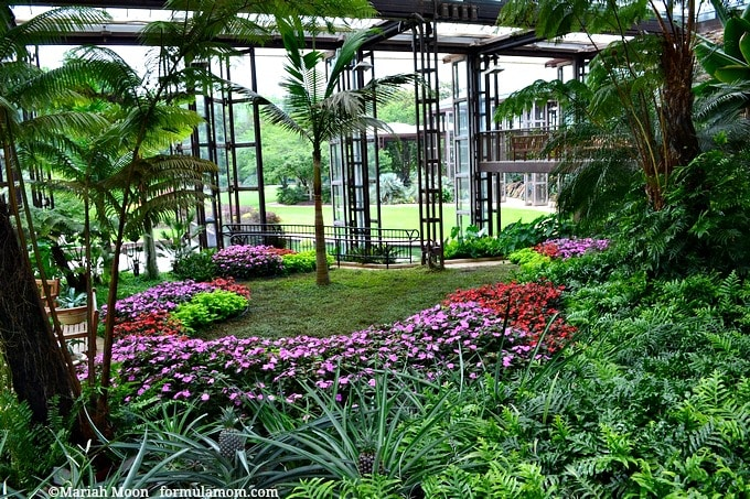 Sibley horticultural center at callaway gardens with 3 for Callaway gardens fishing