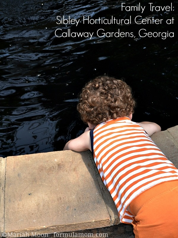 Family Travel at Callaway Gardens: Sibley Horticultural Center #travel #familytravel