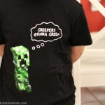 Minecraft Shirts Invade Crazy 8!