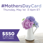 Join the #MothersDayCard Twitter Party 5/1