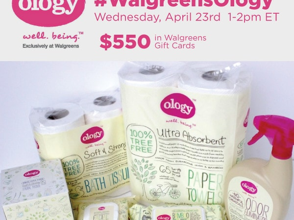 Join Me for the #WalgreensOlogy Twitter Party 4/23