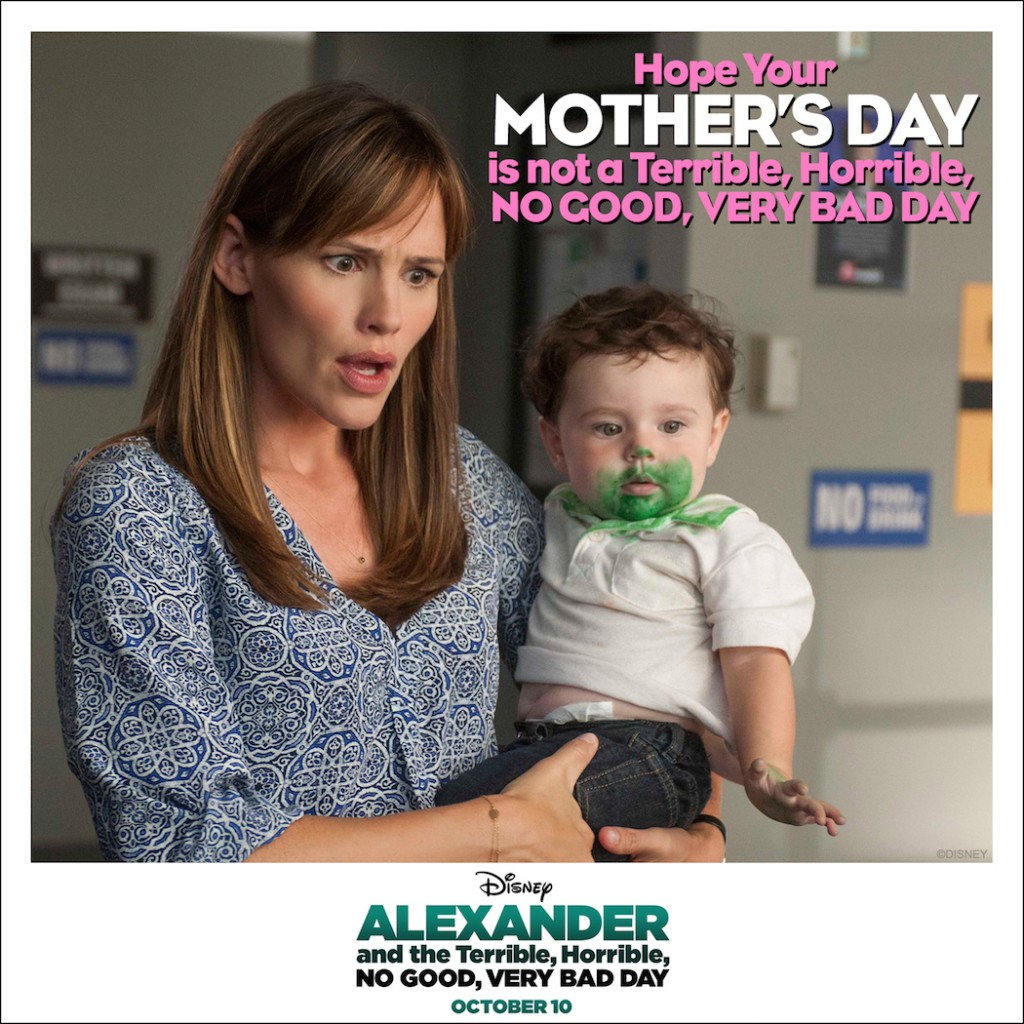 Happy Mothers Day from Alexandar and the Terrible, Horrible, No Good, Very Bad Day