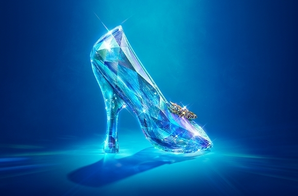 Look at that shoe! Live Action Cinderella from Disney #Cinderella