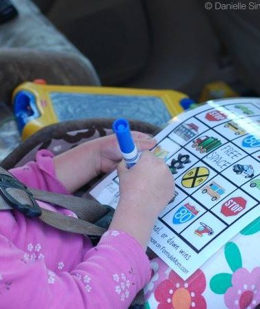 Planning a Family Road Trip: Bingo for Kids #HPFamilyTime
