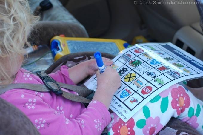 Planning a Family Road Trip: Bingo for Kids #HPFamilyTime