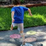 Sidewalk Chalk Games: Color Identification