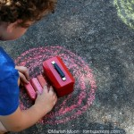 Sidewalk Chalk Games: Sorting By Color