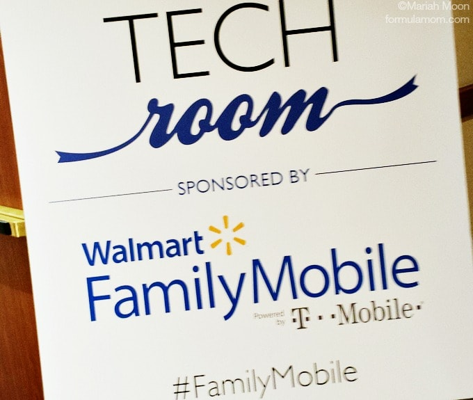 SoFabCon Success with help in the Walmart Family Mobile Tech Room! #SoFabCon14 #FamilyMobile