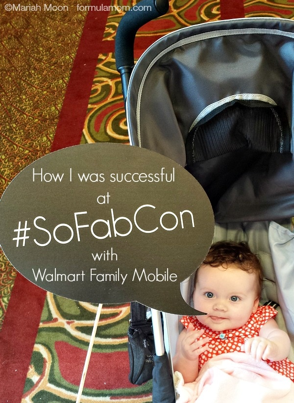 Learn how I was successful at SoFabCon thanks to Walmart Family Mobile! #SoFabCon14 #FamilyMobile