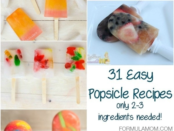 31 Easy Popsicle Recipes (only 2-3 Ingredients needed!)
