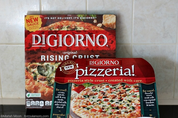 Day in the Life of a Busy Mom: Oven Ready Pizza for Dinner! #SummerGoodies #shop #cbias