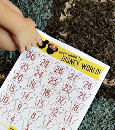 25 Disney Vacation Countdown Ideas