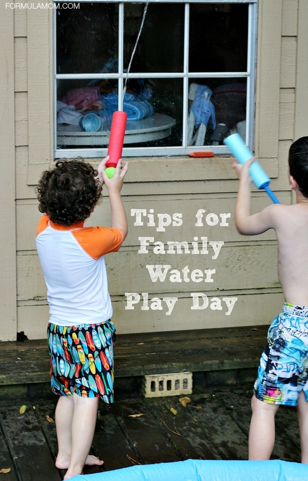 Tips for Family Water Play Day #BBBestSummer #MC